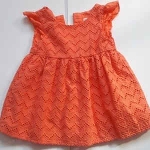 Cat and Jack baby girl dress Size 12 months